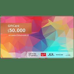 Gift Card Chilelentes BRONZE