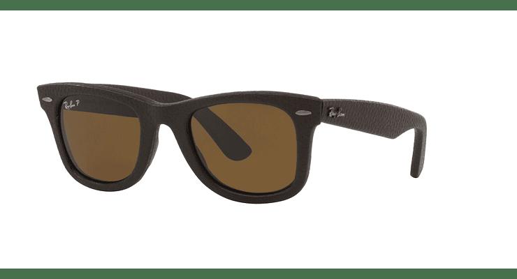 Ray-Ban Wayfarer Leather Polarizado - Image 1