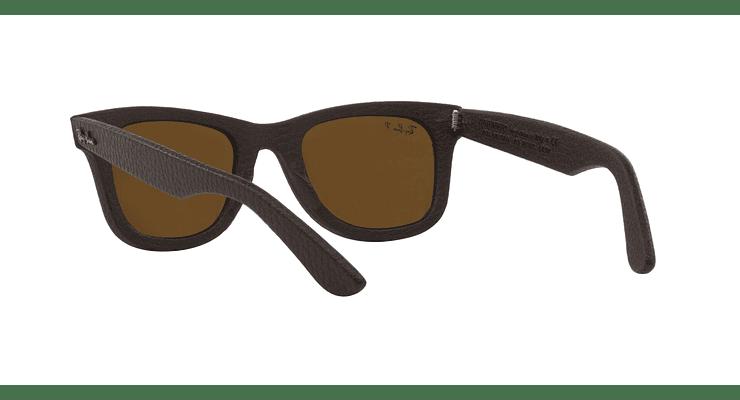 Ray-Ban Wayfarer Leather Polarizado - Image 5