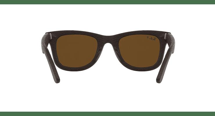 Ray-Ban Wayfarer Leather Polarizado - Image 6