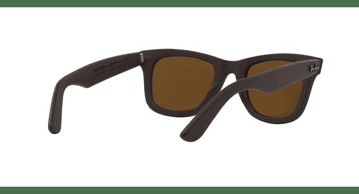 Ray-Ban Wayfarer Leather Polarizado - Image 7