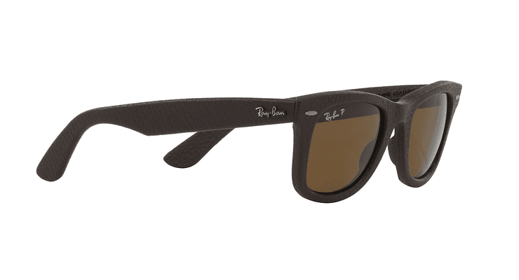 Ray-Ban Wayfarer Leather Polarizado - Image 10