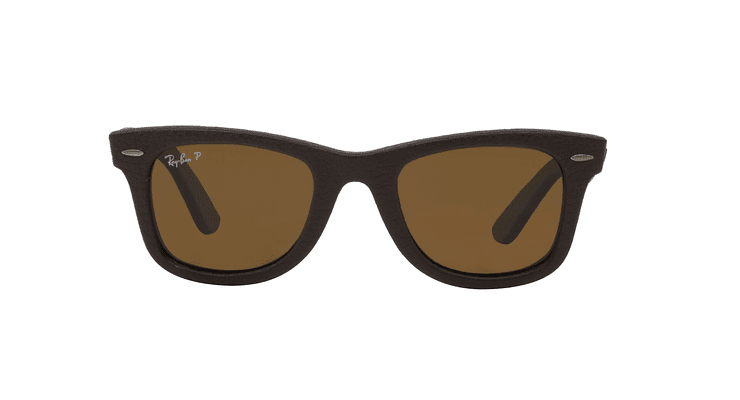 Ray-Ban Wayfarer Leather Polarizado - Image 12