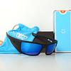 SPY Dirk Negro Opaco lente Azul Espejado cod. s.648478747364 - Image 1