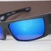 SPY Dirk Negro Opaco lente Azul Espejado cod. s.648478747364 - Image 4