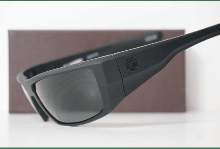 SPY Dirk Negro Opaco lente Verde Oscuro cod. s.648478757400 - Image 2
