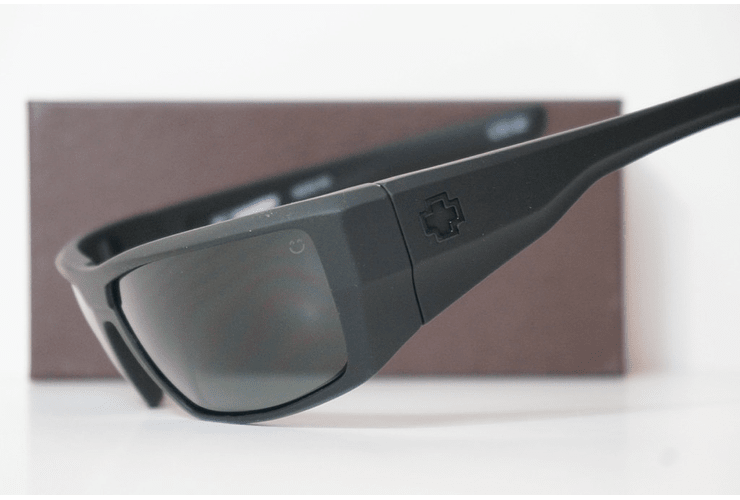 SPY Dirk Negro Opaco lente Verde Oscuro cod. s.648478757400 - Image 3