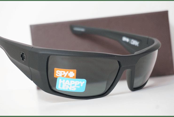 SPY Dirk Negro Opaco lente Verde Oscuro cod. s.648478757400 - Image 5