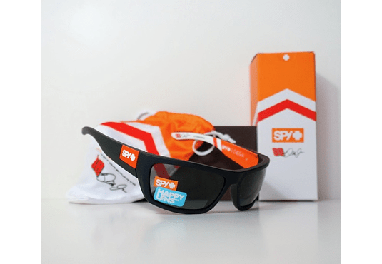 SPY Dega Ed. Especial Jr. Motorsports Negro lente Oscuro cod. s.648478765061