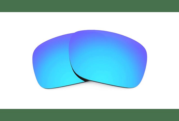 Cristales monofocales (superior) polarizados azul espejo