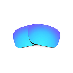 Cristales monofocales (alta calidad) polarizados azul espejo - marcos lentes de sol