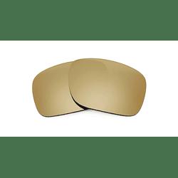 Cristales monofocales (alta calidad) polarizados bronce - marcos lentes de sol