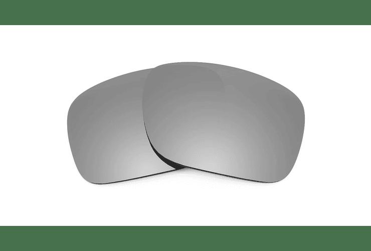 Cristales monofocales (superior) polarizados gris espejo - marcos lentes de sol