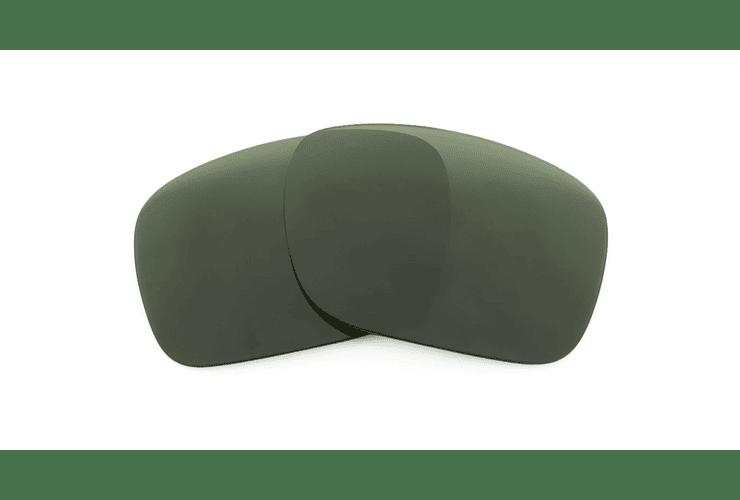 Lente Monofocal Alta calidad Sin tratamiento adicional Polarizado Verde oscuro