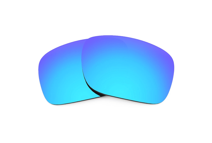 Lente Monofocal Alta calidad Sin tratamiento adicional Polarizado Azul espejo