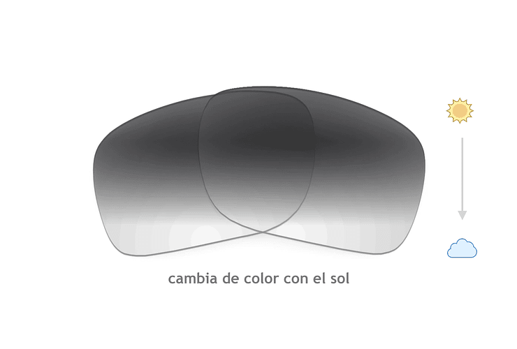 Lente Monofocal Alta calidad Sin tratamiento adicional Fotocromático Gris