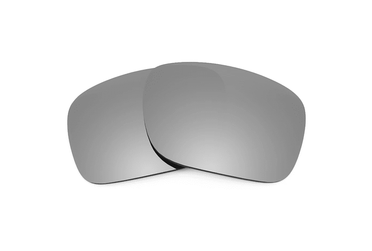Lente Monofocal Superior Sin tratamiento adicional Polarizado Gris espejo