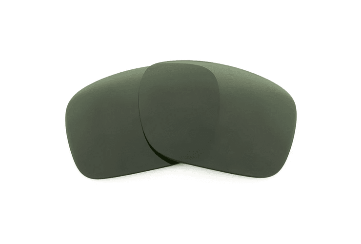Lente Sin aumento  Sin tratamiento adicional Tintado Verde oscuro