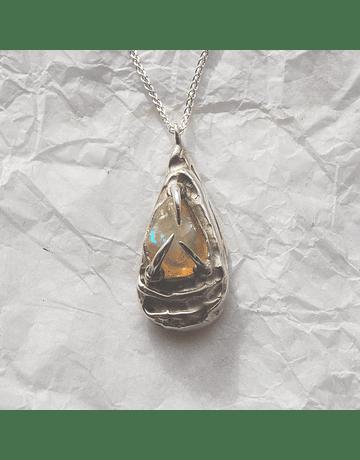 Rough Opal Pendant