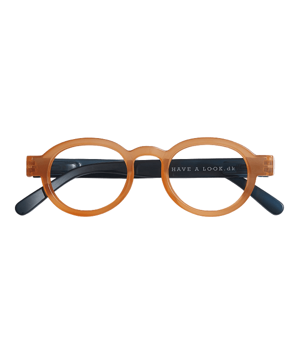 Circle Twist Orange/Blue
