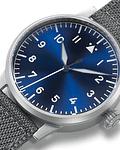 "Reloj Laco Münster ""Blaue Stunde"" - Fondo Azul - Clasico"