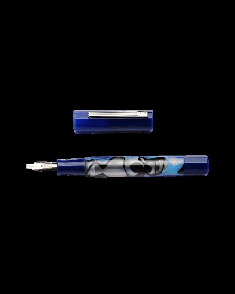 Pluma Opus 88 Flow Blue - Gran Tamaño - Plumin Aleman