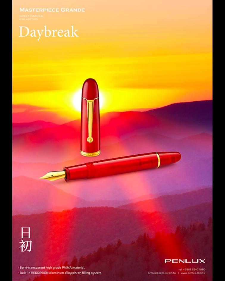 Pluma Penlux Great Natural-Daybreak - Gran Diseño