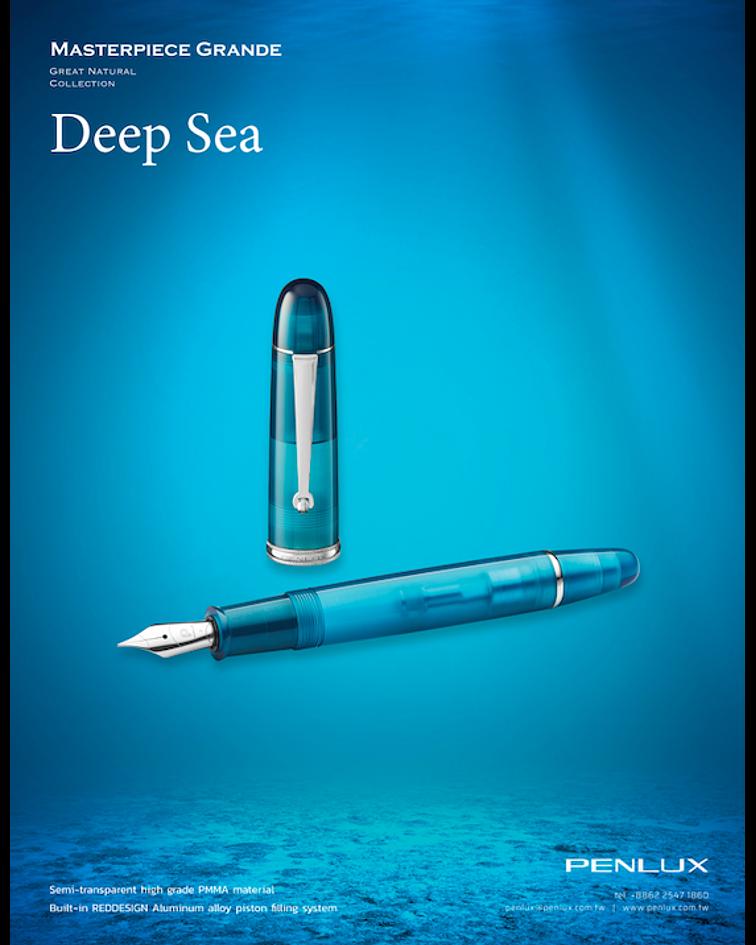 Pluma Penlux Great Natural - Deepsea - Gran Diseño
