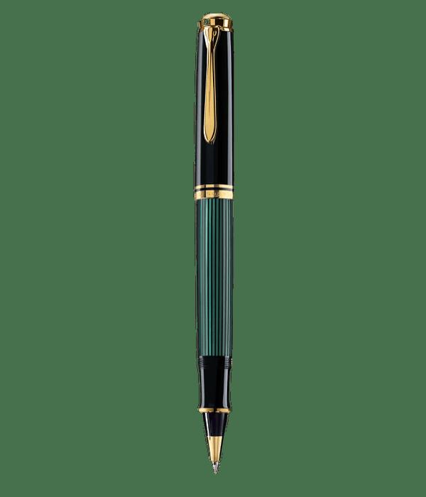 Roller Ball Souveran R600 / Negro - Verde y Dorado
