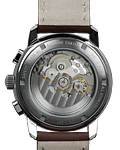 Reloj Cronometro Zeppelin Automatico, Cristal Zafiro, Esfera Azul