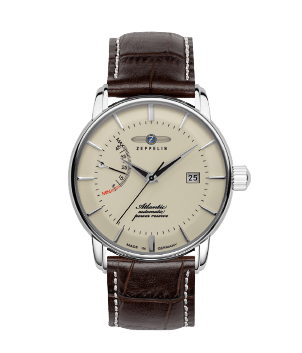 Reloj Zeppelin Automático - Indicador de Reserva - Vintage