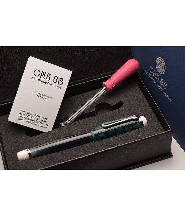 Pluma Opus 88 - OMAR Green - Gran Tamaño - Plumin Aleman