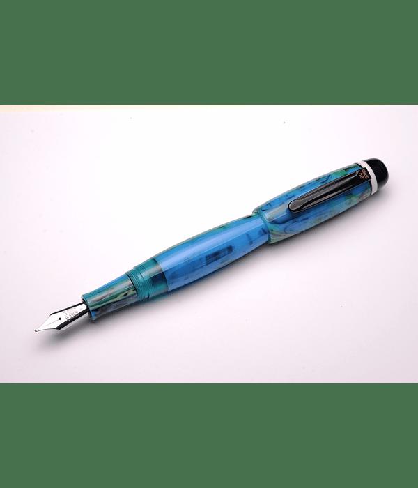 Pluma Opus 88 Bela Azul - Gran Tamaño - Plumin Aleman