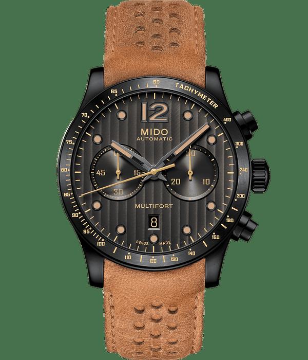 Reloj Mido Multifort Cronografo Automatico Suizo