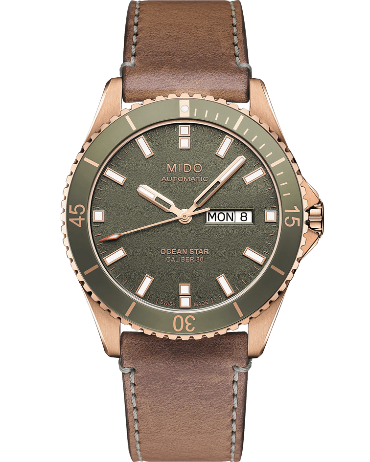 Reloj Mido Ocean Star 200  Captain - Automático - Oro Rosa
