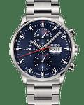 Reloj Mido Commander 2 Cronografo Automatico Azul