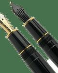 Pluma Platinum PRESIDENT - Plumin Oro 18K - Color Negro
