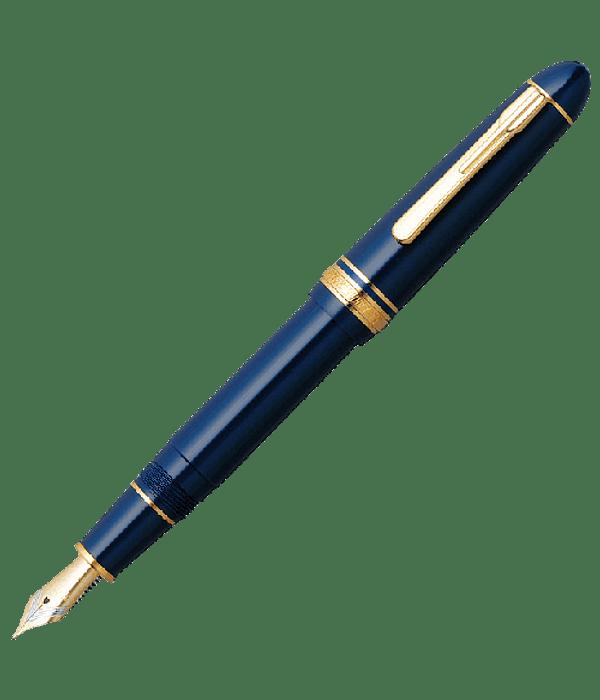 Pluma Platinum PRESIDENT - Plumin oro 18k - Color Azul