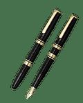Pluma Estilográfica Platinum Century 3776 Black - Plumin de oro 14k