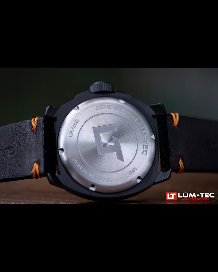 Reloj LUM-TEC 86 Phantom - Cuarzo Suizo - Cristal Zafiro