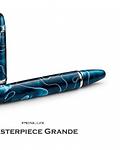 Pluma Penlux MasterPiece Grande - Blue Swirl