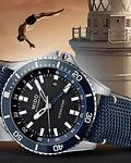 Mido Automatico Ocean Star Azul - GMT