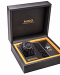 Mido Cronografo Automatico - Negro - Power Reserve 60 horas