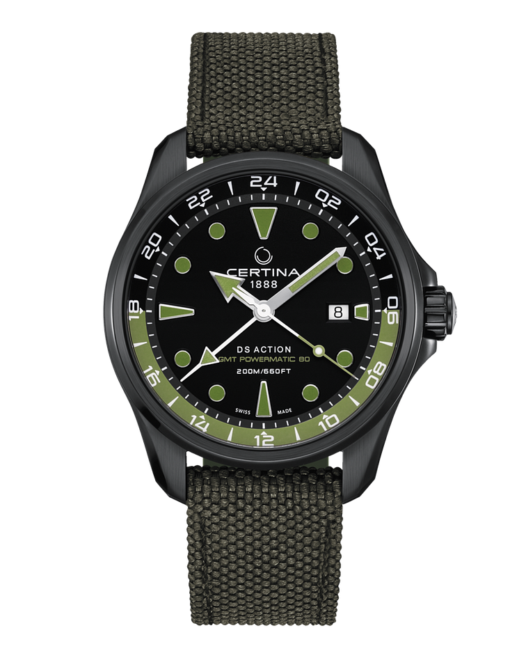 Certina DS Action Automatico - GMT - Power Reserve 80 horas