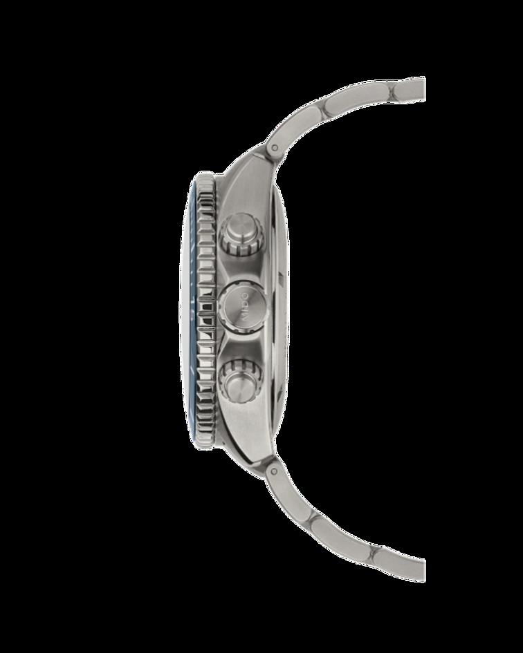 Mido Cronógrafo Automático de Titanio -  Power Reserva 60 horas