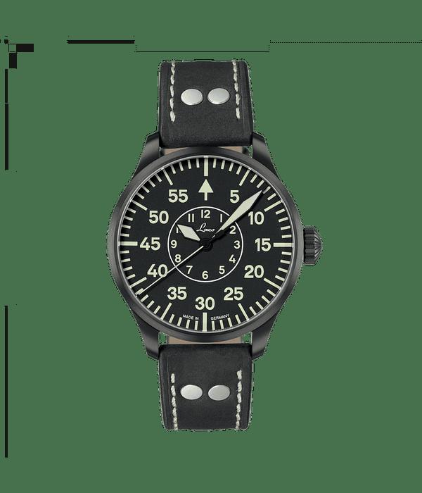 Laco Bielefeld Aviador 42mm - Automatico - Cristal Zafiro