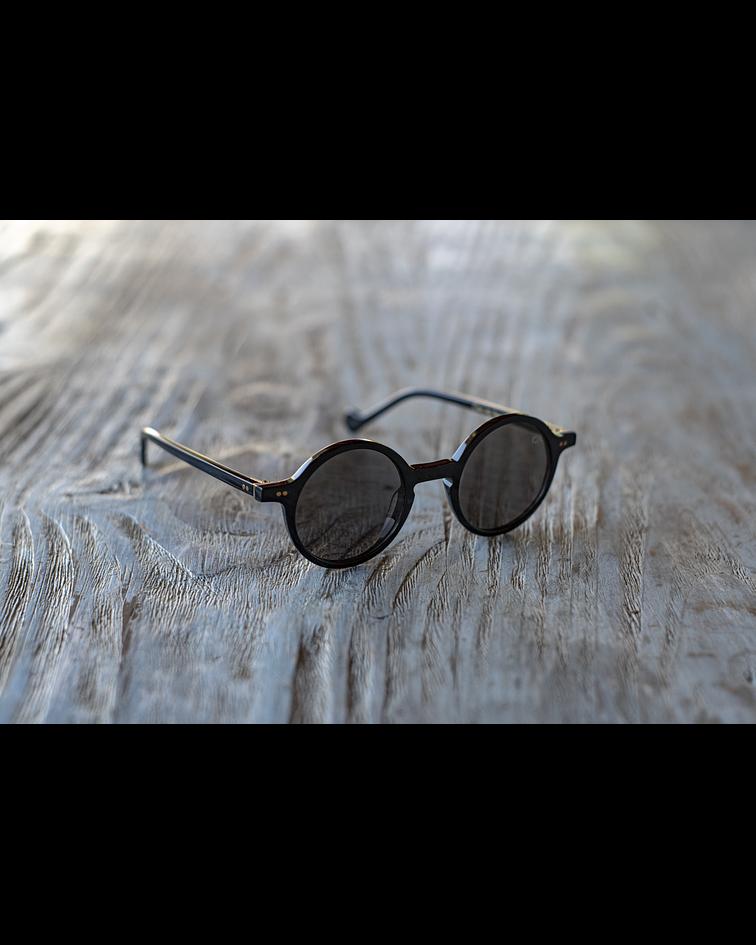 Anteojos Caballeros Redondos color negro - Mazzucchelli
