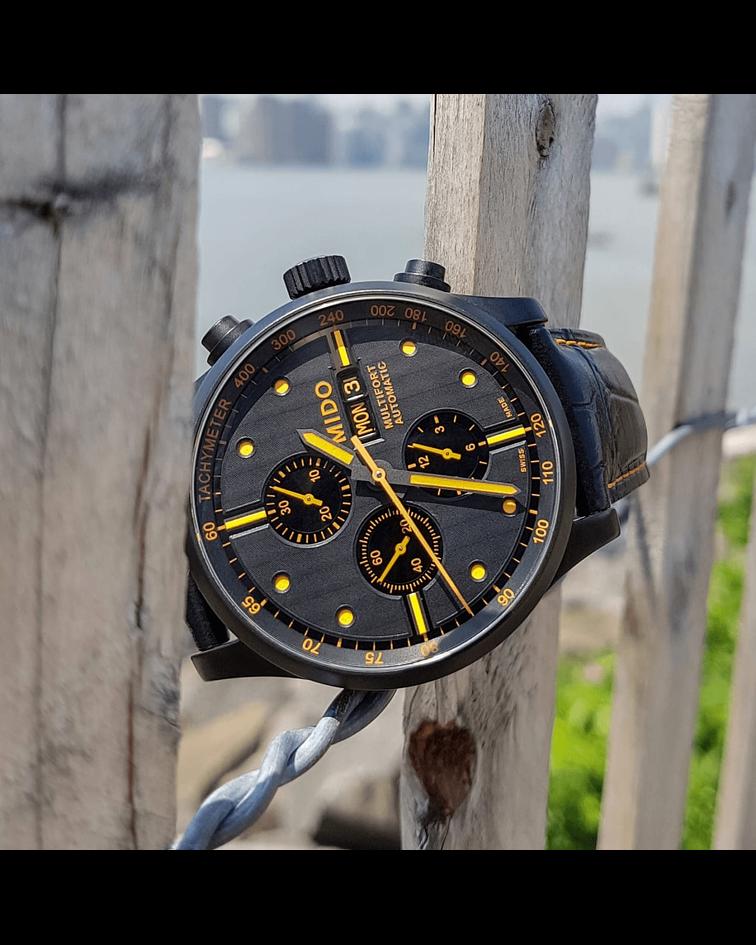 Reloj Mido Multifort Cronografo - Automatico Suizo