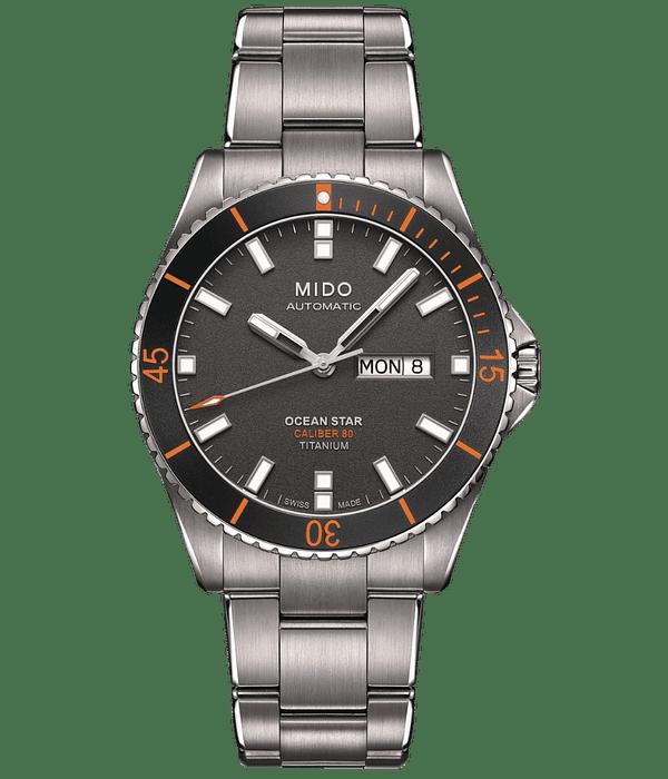 Reloj Mido Ocean Star 200 Automatico - Titanio de alto Grado
