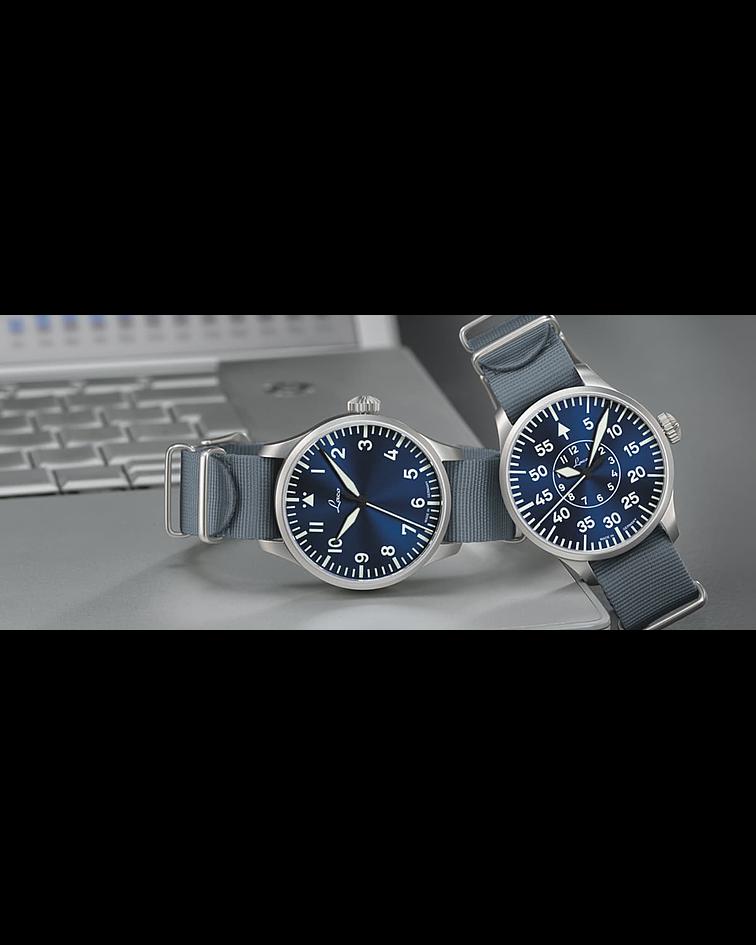 Reloj Laco Tipo A -  Augsburg Blau Stunde - Automático 39 mm
